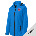 L333 - S141E001 - EMB - Ladies Waterproof Jacket