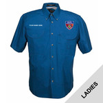 FSLSS - S141E001 - EMB - Ladies Field Shirt