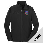 L317 - S141E001 - EMB - Ladies Soft Shell Jacket