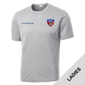 LST350 - S141E001 - EMB - Ladies Wicking T-Shirt